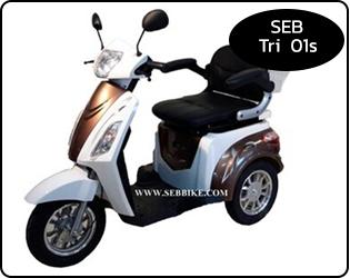 จักรยาน 3 ล้อไฟฟ้า SEB-Tri01s